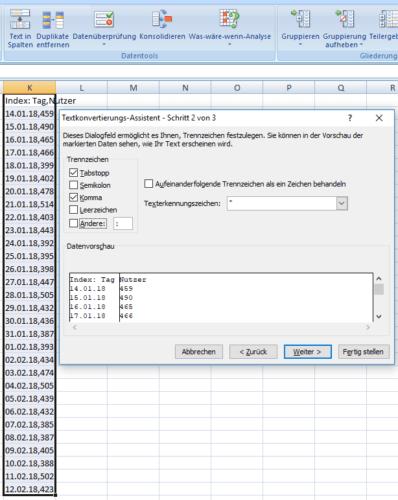 Excel-CSV-TXT-Dateien-Importieren