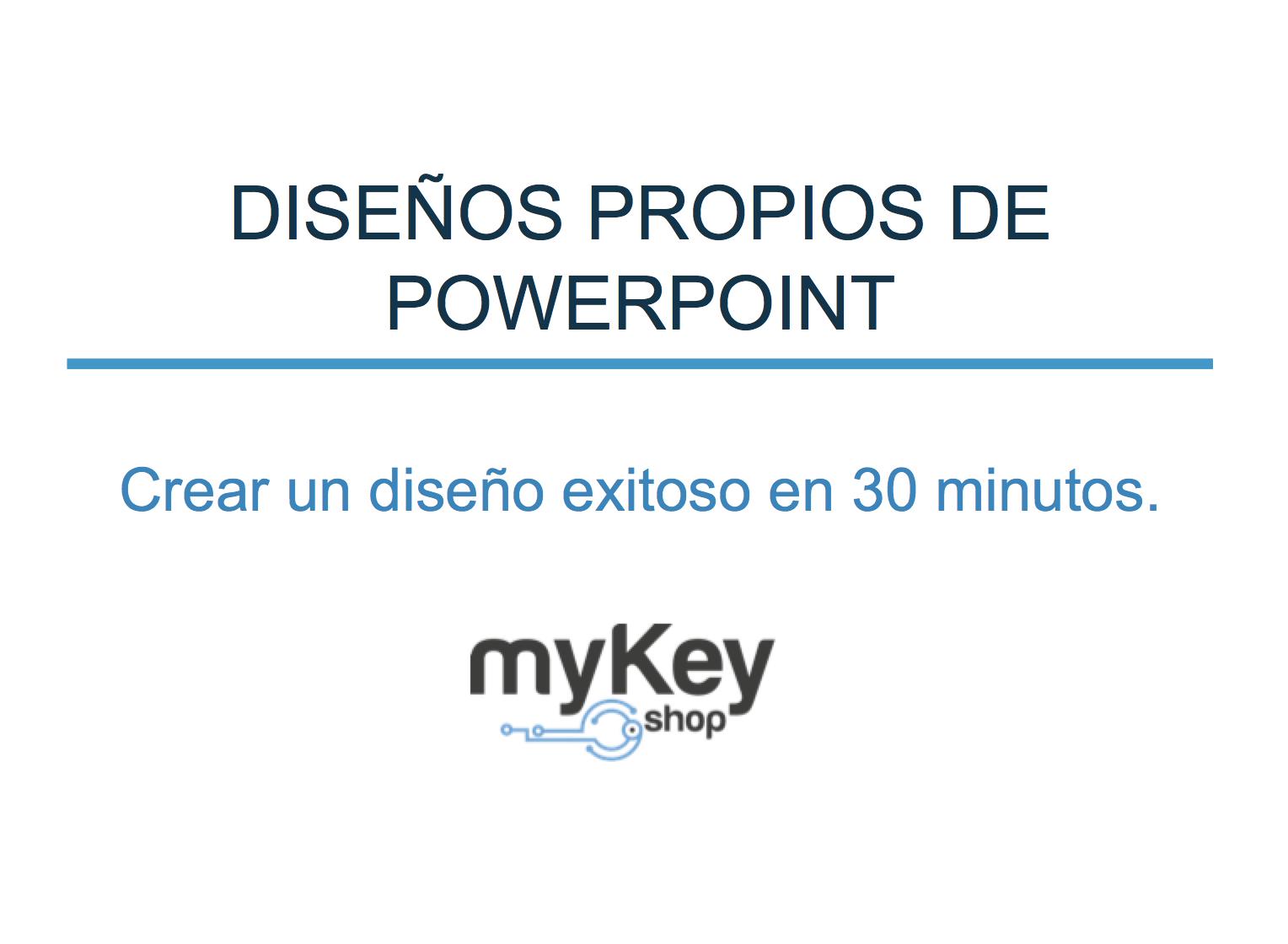Crear propios diseños en Powerpoint – en 30 minutos al diseño ...