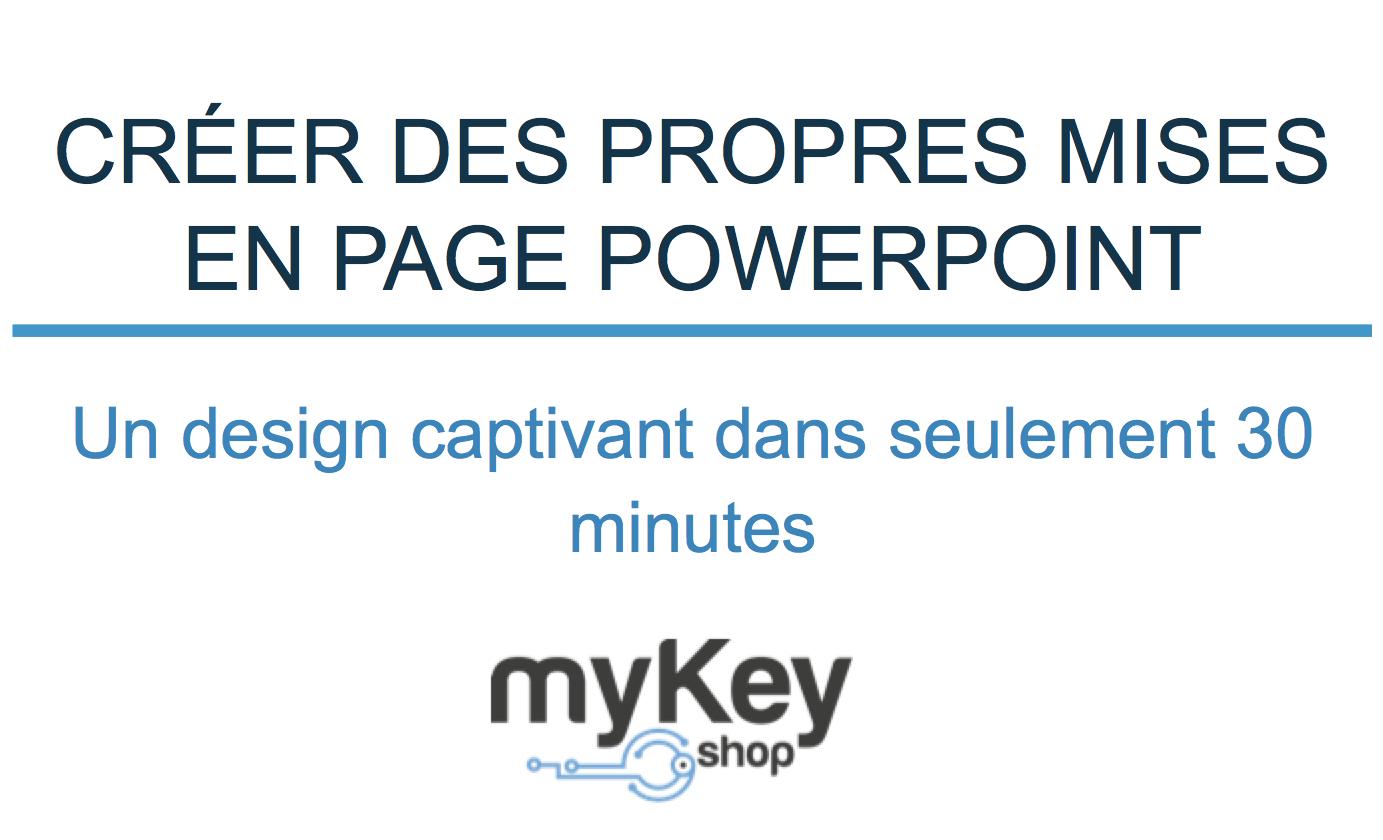 Creer propres mises en page powerpoint