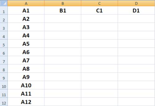 Excel-Tabele-semplice- spiegato