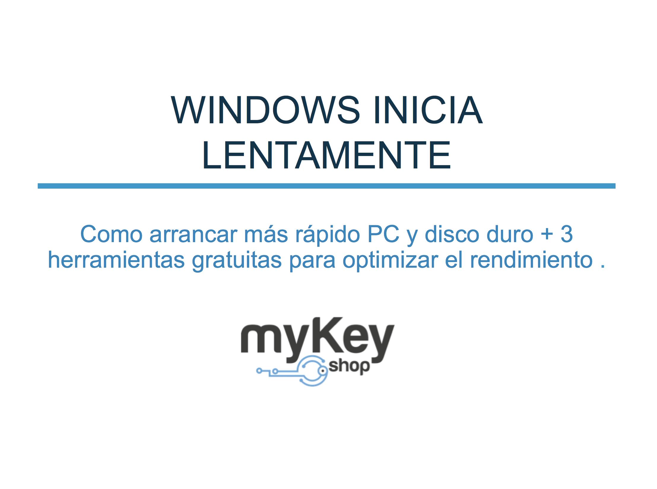 Windows inicio título