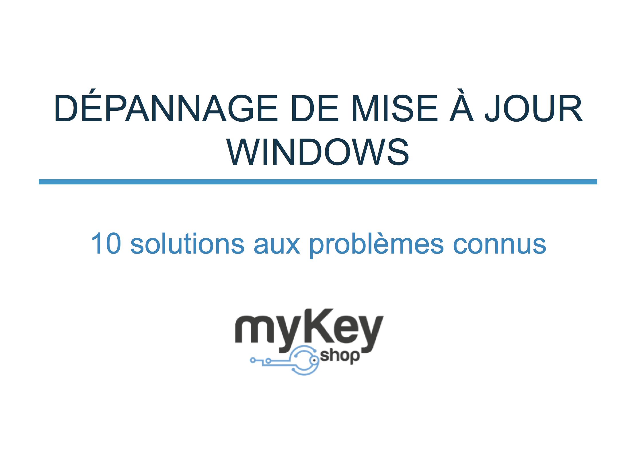 Depannage Windows