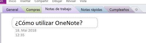 Utilizacion Onenote