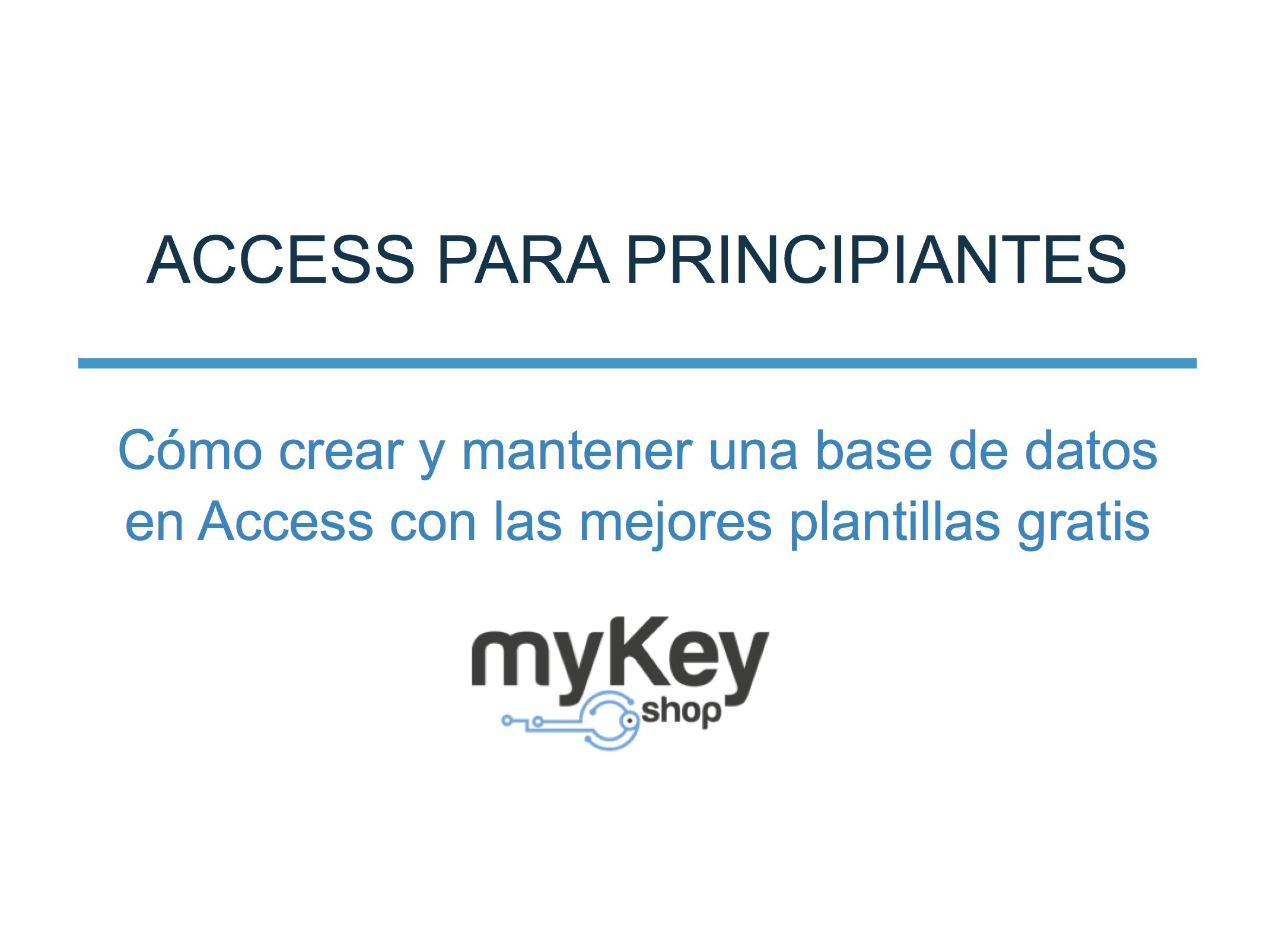 Access titulo